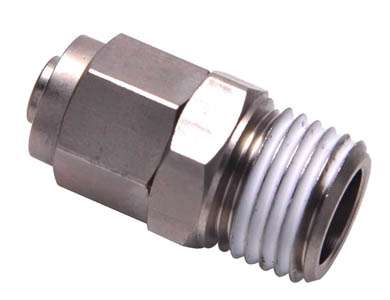 BKC-Straight locknut connector