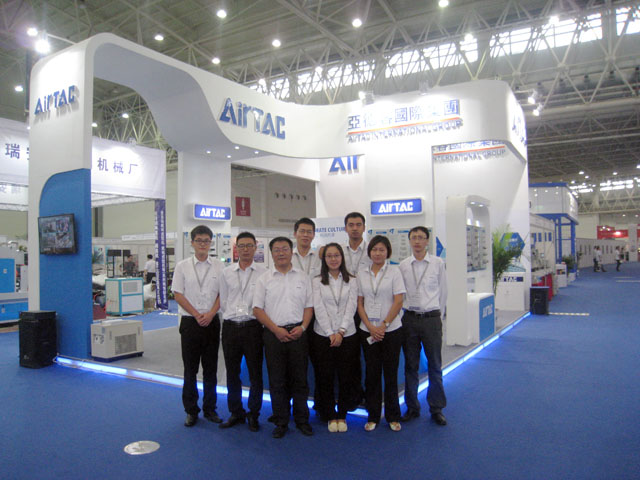 AirTAC (China) Co., Ltd. attended Wuhan International Machinery & Electronic Products Fair